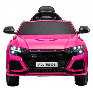 12V Avto AUDI RS Q8 - avto na akumulator pink