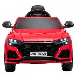 12V Avto AUDI RS Q8 - avto na akumulator rdeč