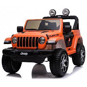 12V Jeep WRANGLER RUBICON oranžen - otroški električni avto