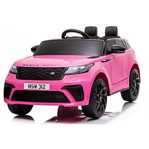 12V baterijski avto z daljincem LAND ROVER VELAR pink barve
