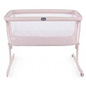 Otroška posteljica Chicco NEXT 2 ME AIR Paradise Pink