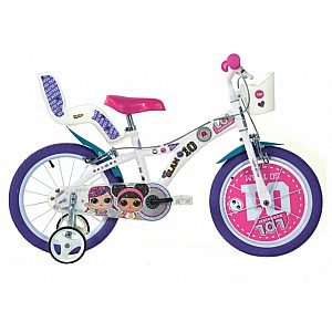 Otroško kolo 14'' Dino Bikes LOL SURPRISE