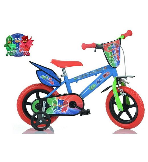 "Otroško kolo 12"" Dino Bikes PJ MASKS"