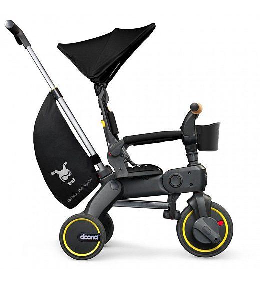 Tricikel Doona LIKI TRIKE S5 Nitro Black