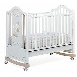 DOLCECUORE 450 - lesena postelja z vzmetnico