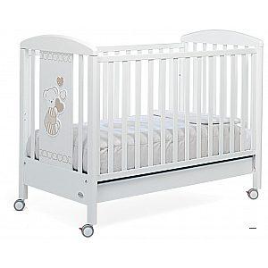 DOLCECUORE 500 white - lesena postelja z vzmetnico
