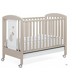 DOLCECUORE 500 dove - lesena postelja z vzmetnico