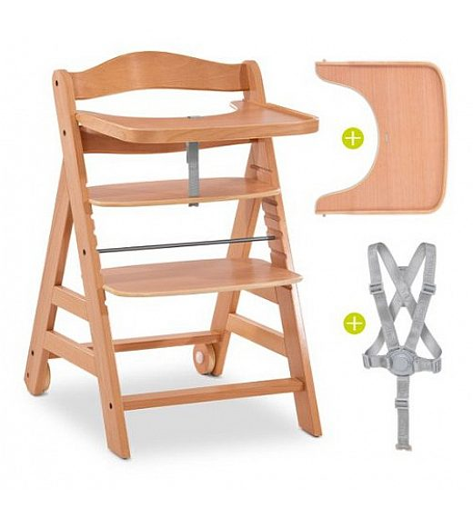 Lesen stolček za hranjenje Hauck ALPHA PLUS MOVE