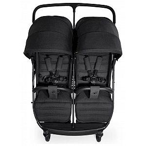 UPTOWN DUO Black - otroški voziček za dvojčke