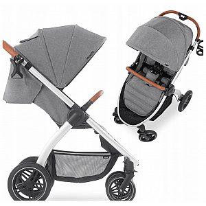Hauck UPTOWN Grey melange- otroški voziček