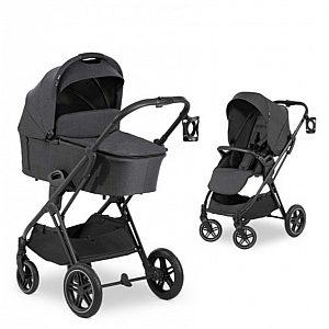 VISION X Duoset Melange Black - otroški voziček