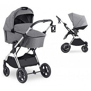 VISION X Duoset Melange Grey - otroški voziček