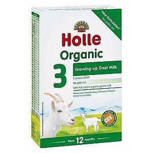 Bio nadaljevalno mleko 3 za dojenčke na bazi kozjega mleka