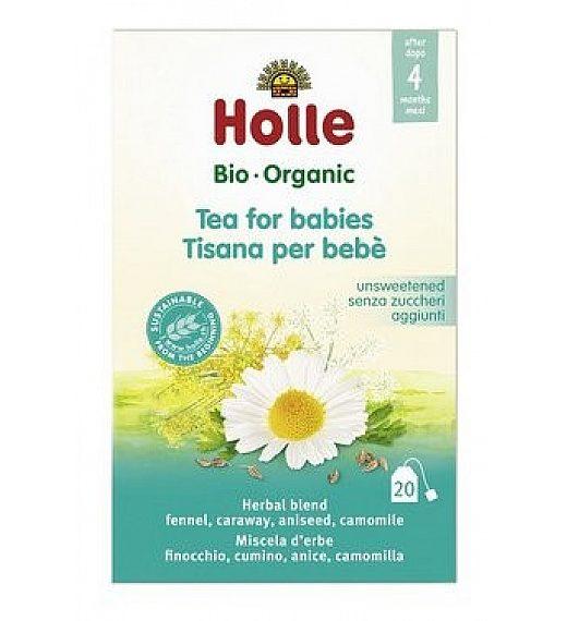Bio- organic zeliščni čaj za dojenčke, 20 čajnih vrečk