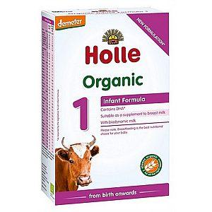 Bio začetno mleko za dojenčka ORGANIC 1, 400g, Holle