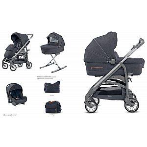 Inglesina Quattro TRILOGY Village Denim - otroški voziček