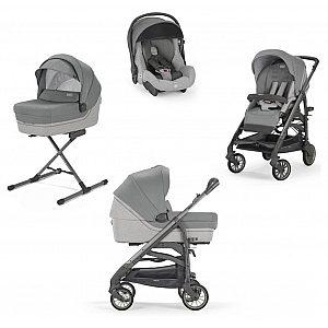 Inglesina Quattro TRILOGY Cayman Silver - otroški voziček