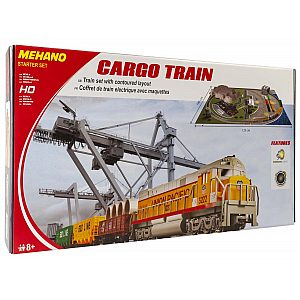 VLAK GARNITURA Z MAKETO CARGO TRAIN T113