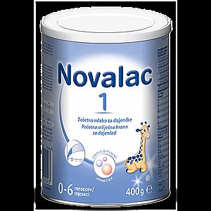 Novalac 1, 400 g - adaptirano mleko