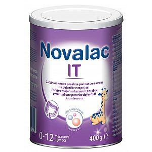 Novalac IT 400 g - adaptirano mleko - zaprtje