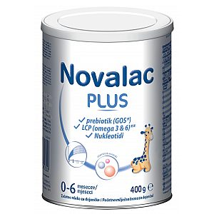 Novalac Plus 400 g - adaptirano mleko - delno dojeni