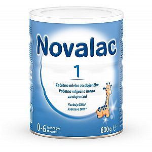 Novalac 1, 800 g - adaptirano mleko