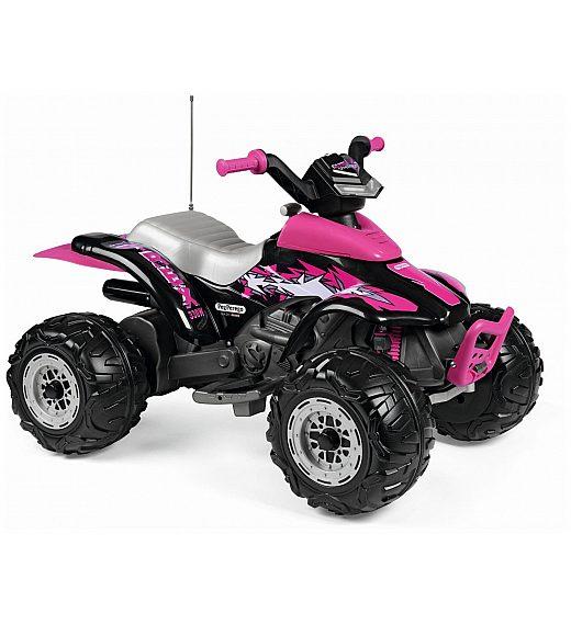 Avto na akumulator Peg Perego CORRAL T-REX 330W Pink