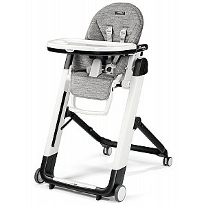 Peg Perego SIESTA Follow me Wonder Grey - stolček za hranjenje