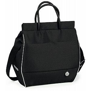 Previjalna torba BORSA Black Shine Peg Perego