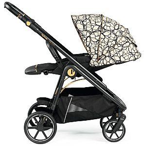 Veloce Graphic Gold - športni otroški voziček