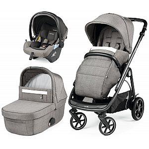 Veloce modular Lounge City Grey - trio otroški voziček