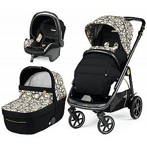Veloce modular SL Graphic Gold - trio otroški voziček