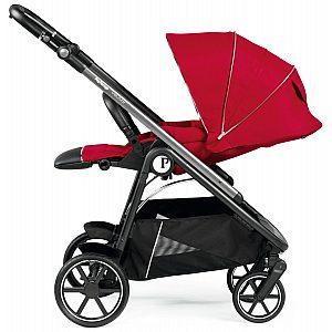 Veloce Red Shine - športni otroški voziček