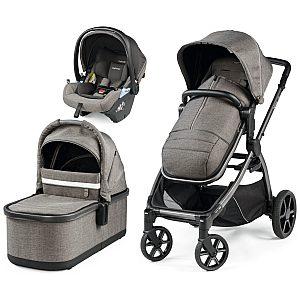Ypsi modular Lounge City Grey Peg Perego - trio otroški voziček