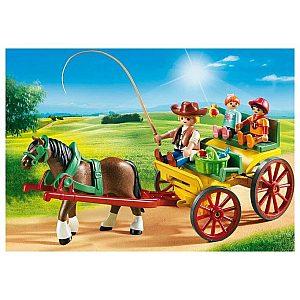 Playmobil Kočija s konjsko vprego 6932