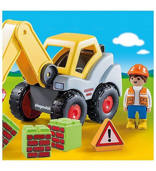 Playmobil 1.2.3 Country Kopač 70125
