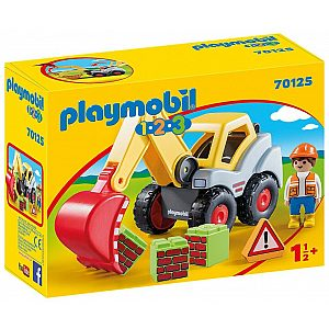 Playmobil 1.2.3 Country Kopač 70125