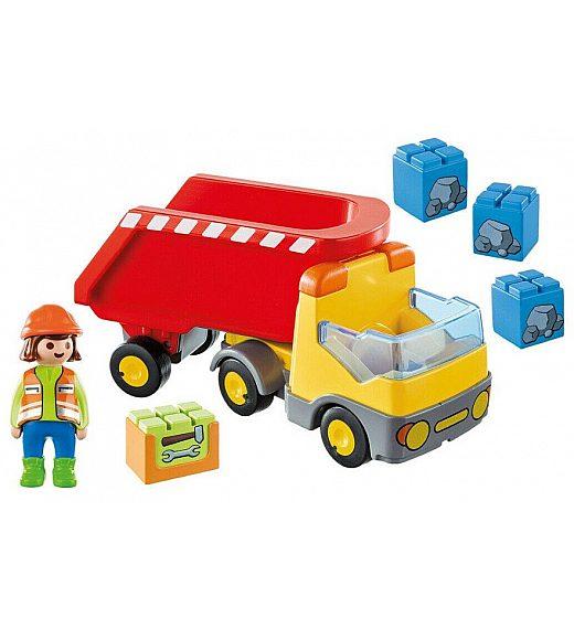 Playmobil 1.2.3 Tovornjak s prekucnikom 70126