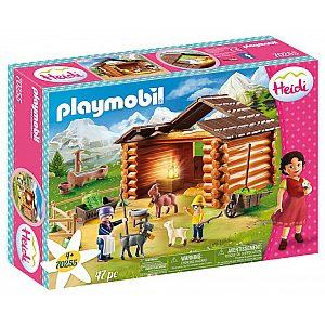 Playmobil HEIDI Peter in kozice 70255
