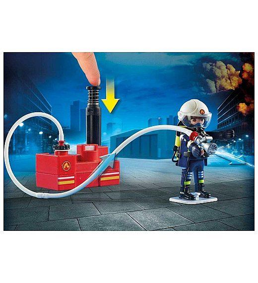 Playmobil Gasilci z vodno črpalko 9468