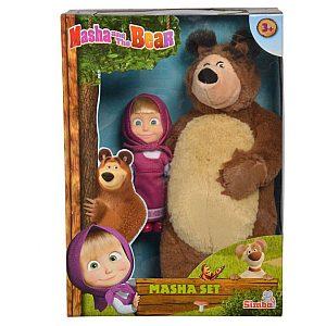 Maša in Medved, Set Maša 12cm in Medved 25cm