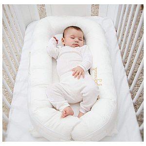 Sleepyhead DELUXE PRESTiNE WHITE - večnamensko gnezdece