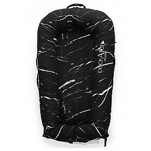 DockATot Black Marble (0-8m) - večnamensko gnezdece