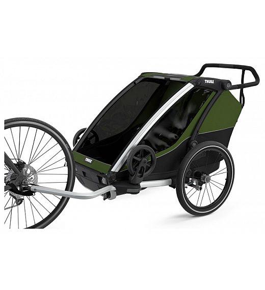 Multifunkcijska prikolica Thule Chariot Cab 2 Cipress Green