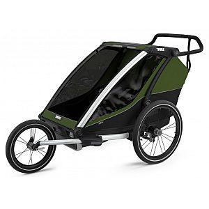 Thule Chariot Cab 2 Cipress Green -  multifunkcijska prikolica za kolo