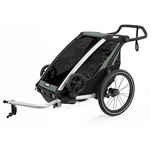 Chariot Lite 1 Agave - multifunkcijska prikolica za kolo