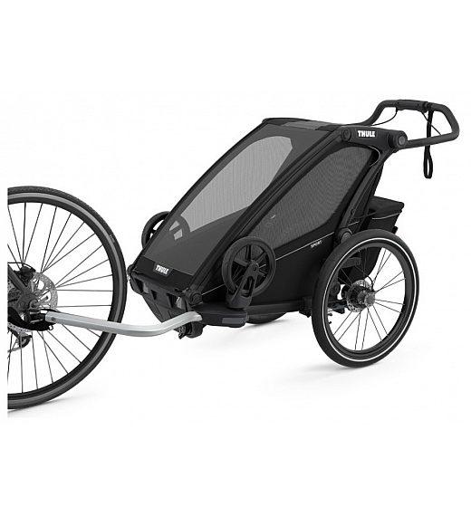 Multifunkcijska prikolica 4 v 1 Thule Chariot Sport1 Midnight Black