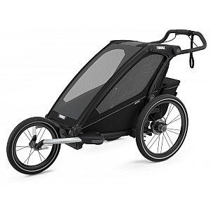 Thule Chariot Sport1 Midnight Black - Multifunkcijska prikolica za otroka 4 v 1