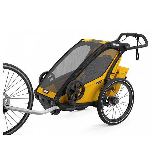 Multifunkcijska prikolica 4 v 1 Thule Chariot Sport1 Black Spectra Yellow