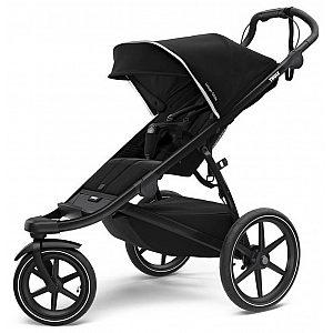 Otroški voziček za jogging  URBAN GLIDE 2 Black on Black 2021